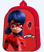 Mochila Pré Escolar 3D Ladybug 31cm