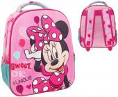 Mochila Pré Escolar 3D Minnie Sweet 31cm