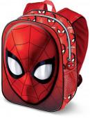 Mochila Pré-escolar 3D Spiderman 31cm Spiderweb