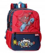 Mochila Pré Escolar adap trolley 32cm Spiderman Pop