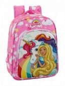 Mochila pré-escolar adp  34cm Barbie Dreamtopia