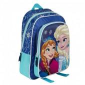 Mochila Pré Escolar Bolsa Frozen Friends 33cm