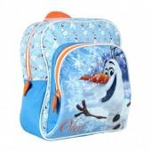 Mochila Pre Escolar c/ bolso Frozen Olaf Blue