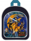 Mochila Pre Escolar c/ bolso Star Wars Rebels blue