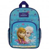 Mochila Pre Escolar c/ bolsos Frozen Ice Queen