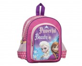 Mochila pre escolar c/ bolsos Frozen Powerful Beauty