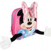 Mochila pré-escolar  com braços Minnie Disney 28cm