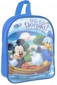 Mochila Pré-Escolar Disney Mickey e Donald Blue