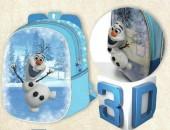 Mochila pre escolar Frozen Olaf 3D