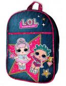 Mochila Pré-Escolar Glamour LOL Surprise 28cm