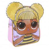 Mochila Pré Escolar LOL Surprise Queen Bee 31cm