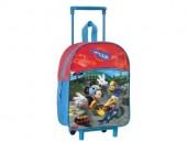 Mochila pré-escolar Mickey e Amigos trolley