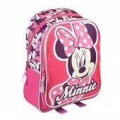 Mochila Pré Escolar Minnie Pinky Bow