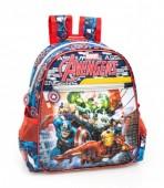 Mochila pré-escolar premium 29cm Avengers power