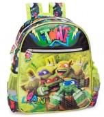 Mochila pré-escolar premium 29cm Tartarugas Ninja TMNT