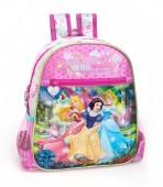 Mochila Pre Escolar premium Princesas Disney Pink