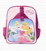 Mochila Pre Escolar Princesas 2 bolsos