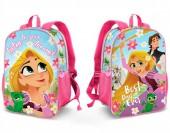 Mochila pré escolar reversível 32cm Rapunzel - Listen
