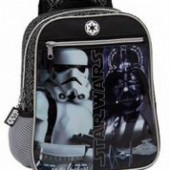 Mochila Pre Escolar Star Wars Black