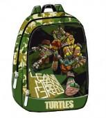 Mochila Pre Escolar Tartarugas Ninja Green