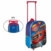 Mochila pre escolar trolley 3D Blaze and The Monster