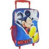 Mochila Pre-Escolar trolley Happy Blue