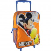 Mochila Pre-Escolar trolley Happy Orange