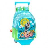Mochila Pre Escolar trolley Olaf Frozen Sun