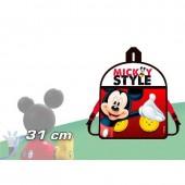 Mochila Pré Mickey Style 31cm.