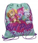 Mochila tipo saco de Patrulha Pata - Girl Pup Power