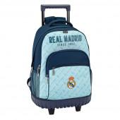 Mochila Troley Escolar Compacto Real Madrid Since 1902