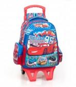 Mochila trolley Escolar 38cm  premium Cars Team 95