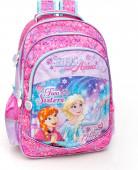 Mochila Trolley Escolar 44cm Premium Frozen Two Sisters One Heart