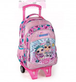 Mochila Trolley Escolar LOL Surprise Adorbs 3Fechos 44.5cm