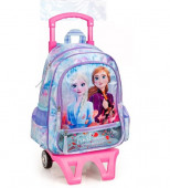 Mochila Trolley Escolar Premium 39cm Frozen 2 Trust Your Journey