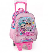 Mochila Trolley Escolar Premium 39cm LOL Surprise Adorbs