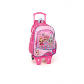 Mochila Trolley Escolar Premium 39cm LOL Surprise Dance