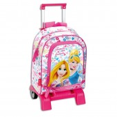 Mochila trolley escolar Premium 39cm Princesas Disney - Forever