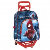 Mochila trolley escolar Spiderman 2 Marvel
