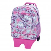 Mochila Trolley G 41 cm Privata Trendy