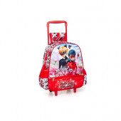 Mochila Trolley Pré-Escolar Ladybug 29cm Show Your True Colors
