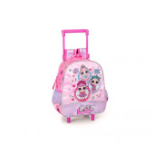 Mochila Trolley Pré-Escolar LOL Surprise 29cm Bubbles