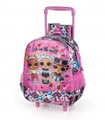 Mochila Trolley Pré-Escolar LOL Surprise 29cm Glitter