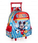 Mochila Trolley Pré-Escolar Mickey Team Mickey 29cm