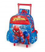 Mochila Trolley Pré-Escolar Spiderman Webbed Wonder 29cm