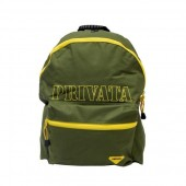 Mochila Verde Tropa 45 cm Privata Simple