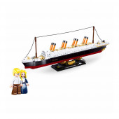 Model Bricks Titanic 481 peças Sluban