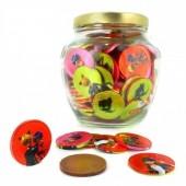 Moeda Chocolate Ladybug