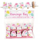 Molas porta fotos Flamingo