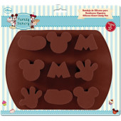 Molde silicone bombons Mickey